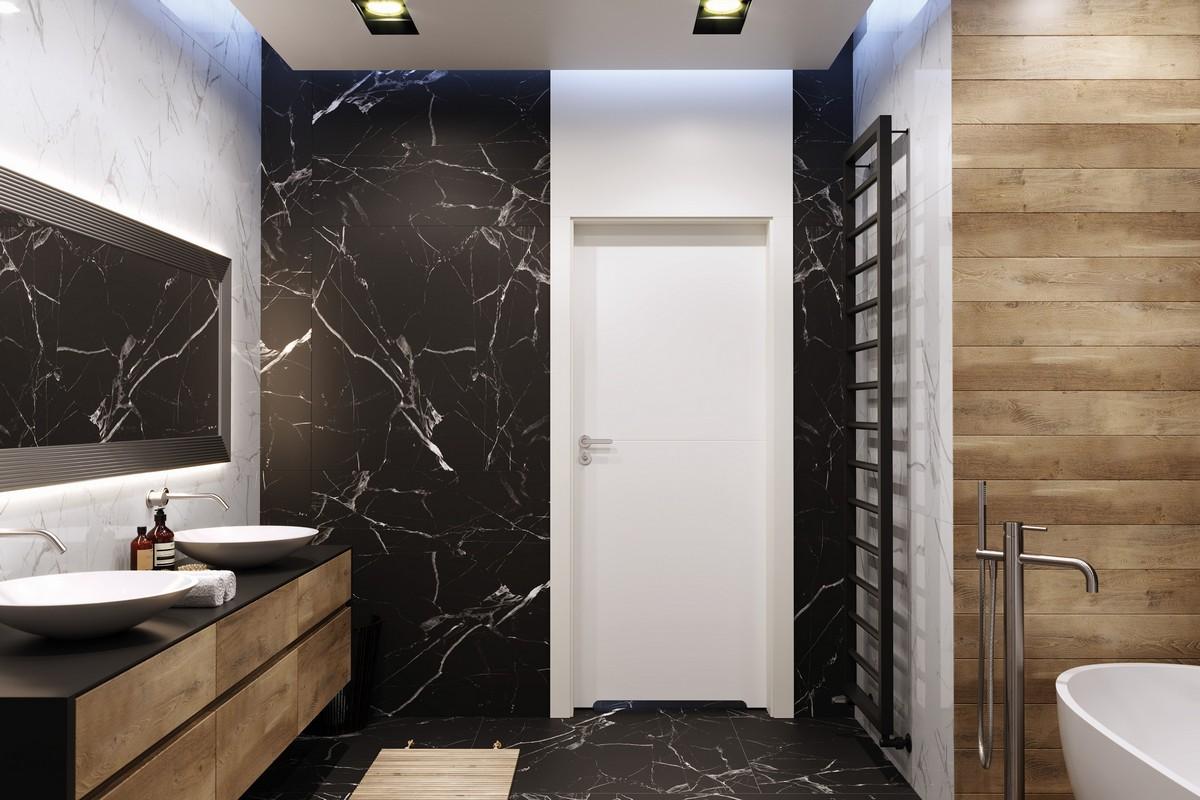łazienka Z Mocnymi Akcentami Drzwi21pl Portal Branżowy